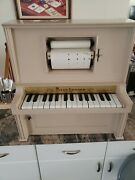 J. Chein And Co. Piano Lodeon Player Piano Mini Automatic Good Working Condition.