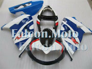 Fairing Plastic Fit For 1998-2003 Tl1000r 98-03 Blue White Injection Mold Abr