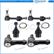 Front Lower Ball Joints Steering Sway Bar Tie Rod End For 2004-2005 Ford F-150