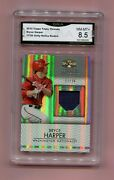 Only 36 Made 2012 Topps Triple Threads Bryce Harper Rookie Rc Unity Relics Rare