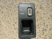87-95 Chrysler Lebaron Convertible Top Roof Control Switch Tested Oem