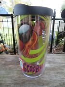 Tervis- Scooby Doo -black Lid Cup/tumbler 16 Oz, Cup And Top-new