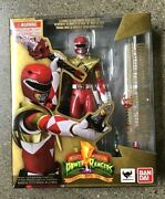 Bandai Tamashii Nations S.h. Figurearts Armored Red Ranger Mighty Morphin Power