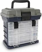 Fishing Tackle Box With Portable 4 Layers Box,bulk Storage Under Lid Giving