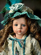 Reproduction Of French Antique Albert Marque 19andrdquo Doll Porcelain Head Comp Body