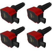Msd Red Coil For Ford Eco-boost 2.0l/2.3l 4 Pack Exceptional Value Reliable