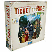 Hobbyjapan Board Game Ticket To Ride Europe 15th Anniversary Edition