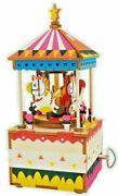 3d Wood Puzzles Music Box Für Elise Merry-go-round Kit Free Shipping