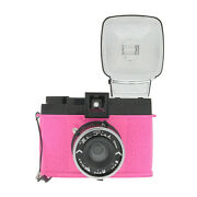 Lomography Diana F Plus Camera And Flash Mr. Pink Edition