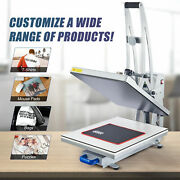 Heat Press Machine Auto Open 16x20 Clamshell T Shirt Press For Clothes Bags More