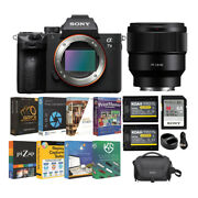 Sony Alpha A7 Iii Full Frame Mirrorless Camera With 85mm Lens Accessory Bundle