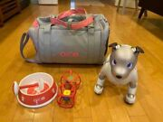 Sony Aibo Ers-1000 Entertainment Robot Dog Ivory White Excellent Japan