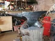 Large Thomas Hill Anvil, 375lbs Or 171kg, 3cwt - Blacksmith Forge
