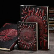Vintage Tree Of Life Diary Notebook Journals Embossed Leather Cover Xmas Gift