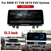 Android 12.3 Car Radio Gps Can Bus Stereo Navi For Bmw X1 F48 2018 Evo System