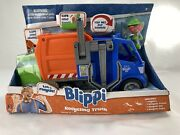 Blippi Recycling Truck New In Box W Truck And Figure Toy Is New Box Damaged
