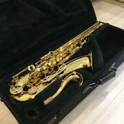 Yamaha Yts-62 Tenor Saxpphone W/ Hard Case And Care Kit From Japan Maintained