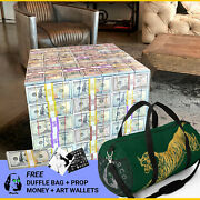 Money Table For Bar, Lounge, Home And Office - Included Duffle Bag, Stack, More.