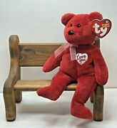 Ty Beanie Baby Secret The Bear With Tag Retired  Dob January 19th, 2003
