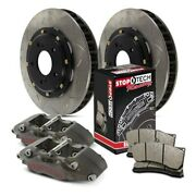 Stoptech Competition Pillar Bi-slotted 2-piece Front Brake Kit