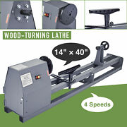 Preenex 14x40 Wood Lathe 1/2hp 3400rpm Benchtop Lathe W Faceplate Chuck And More
