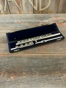 W.t. Armstrong 80 Flute Open Hole Sterling Silver 1973 - Used