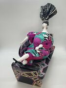 Poupee Millet Art Doll And Wood Chase/lounger 1996