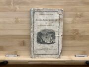 1853 Johnson's New Guide To Niagara Falls, Montreal And Saratoga Springs Map