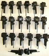 10 Pairs, 20 Pieces Bachmann 92420/92419 Knuckle Couplers Brand New
