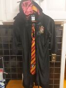 Harry Potter Costume With Tie Glasses Light Up Wand Halloween One Size Fits All