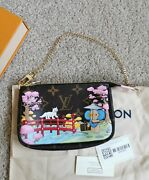 Authentic Brand New Louis Vuitton 2021 Christmas Limited Edition Mini Pouch