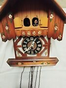 Vintage Cuckoo Clock Coo Coo West Germany As Is Needs Work Parts
