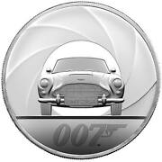 007 Special Issue 2020 Uk Five-ounce Silver Proof Coin 082 Sold Out At Mint