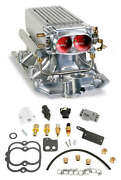 Holley Small Block Chevy Polished Stealth Ram Multi-port Power Kit Vortec Heads
