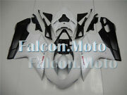 Pearl White Black Injection Body Kit Fairing Fit For Ducati 848 1098 1198 07-12