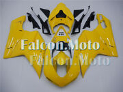 Yellow Injection Body Kit Fairing Fit For 2007-2012 Ducati 848 1098 1198 Mold Ba