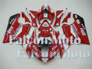 White Red Black Injection Body Kit Fairing Fit For 07-12 Ducati 848 1098 1198 Al