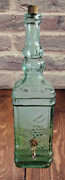Antique Big/large Bottle Fountain In Absinthe Illustration Grape + Or - 2 L.