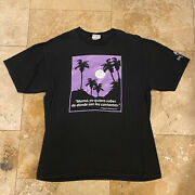 Vintage Bacardi Rum Quote T-shirt 90s Size Large