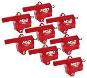 Msd 82868 Gm Ls Truck Style Coils - 8