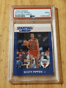 Brand New 1988 Kenner Starting Lineup Scottie Pippen Rc Rookie Card Psa 9 Mint