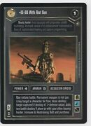 Star Wars Ccg Decipher Ig-88 With Riot Gun Reflections Ii Super Rare Foil Nm
