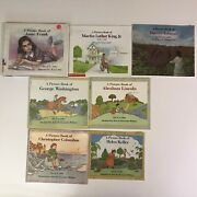 David A Adler 7 Picture Book Lot Biographies