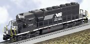 Lionel - Norfolk Southern Sd40-2 Diesel Non-powered 3341 - O Scale 6-28258