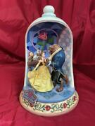 Disney Tradition Beauty And The Beast 30th Anniversary Jim Shore Ship From Japan