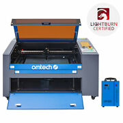Omtech 60w 16x24in Co2 Laser Engraver Engraving Machine With 5202 Water Chiller