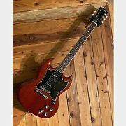 Gibson Sg Classic Heritage Cherry Electric Guitar 2005 With Soft Case