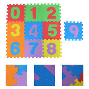10pcs Colorful Floor Mats Toddler Baby Puzzle Mats Kids Exercise Play Mats