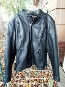 First Classic Men's Size 3x Leather Riding Jacket