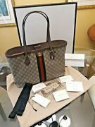 Authentic Brand New Gg Medium Tote With Dust Bag All Original Documents